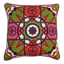 Alhambra Tile Indoor/Outdoor Throw Pillow