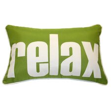 Relax Indoor/Outdoor Lumbar Pillow