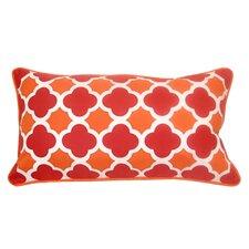 Coupon Mini Quatrefoil Indoor/Outdoor Lumbar Pillow