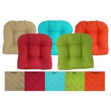 Sonic Diamond Outdoor Chair Cushion (Set of 2)