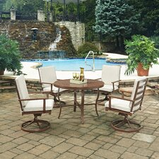 Key West 5 Piece Dining Set with Cushion