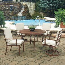 Great Reviews Key West 5 Piece Dining Set with Cushion