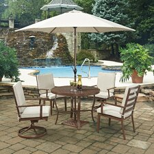 Savings Key West 7 Piece Dining Set with Cushion