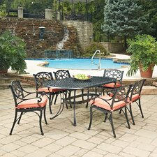 Biscayne 7 Piece Dining Set with Cushion