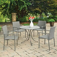 Purchase Umbria Concrete Tile 5 Piece Dining Set