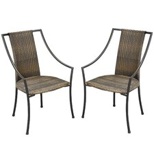 Bargain Laguna Slope Dining Arm Chairs (Set of 2)