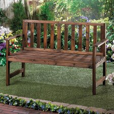 Grove Fir Wood Garden Bench