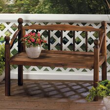 Grove Plant Stand Fir Wood Garden Bench