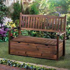 Garden Grove Fir Wood Storage Bench