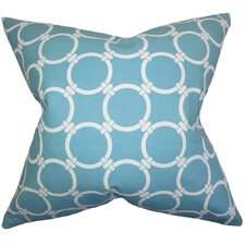 Bechet Geometric Throw Pillow