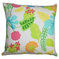 Gamila Floral Outdoor Throw Pillow