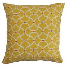 Radha Geometric Outdoor Throw Pillow
