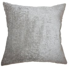 Gefion Solid Outdoor Throw Pillow Cover
