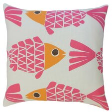 Valmai Graphic Outdoor Throw Pillow