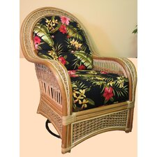 Spice Islands Swivel Rocking Chair with Cushion
