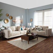 Baxton Studio Brittany 2 Piece Living Room Set