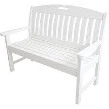 Avalon Plastic Garden Bench