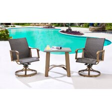 Hermosa 3 Piece Bistro Set