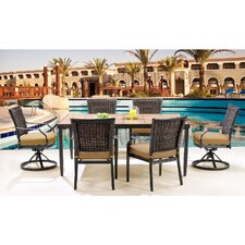 Sale Mercer 7 Piece Dining Set with Cushions