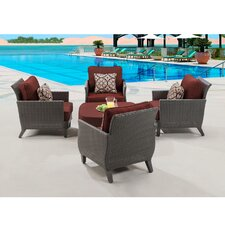Savannah 5 Piece Seating Group With cushion