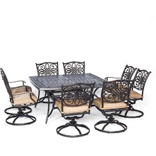 2017 Sale Traditions 9 Piece Dining Set with Cushion