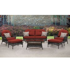 Sale San Marino 6 Piece Deep Seating Group with Cushions