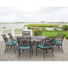 Traditions 9 Piece Dining Set