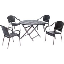 Amazing Orleans 5 Piece Dining Set