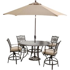 Traditions 5 Piece Bar Set with Cushions