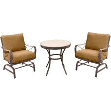 Summer Nights 3 Piece Bistro Set with Cushions