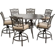 Traditions 7 Piece Bar Set with Cushions