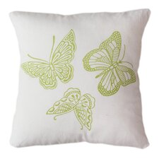 Read Reviews Butterflies Indoor/Outdoor Throw Pillow