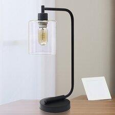 "Mahesh Iron Lantern 18.75"" Desk Lamp"