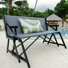 Vero Gray Outdoor Convertible Picnic Bench