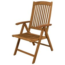 Avalon Folding Dining Arm Chair