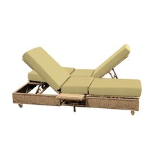 Read Reviews Catalina Double Chaise Lounge with Cushion