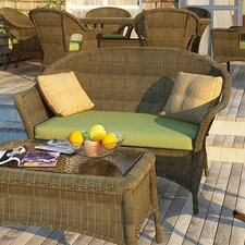 Spacial Price Rockport Loveseat with Cushions