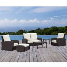 Saritas 6 Piece Deep Seating Group with Cushion