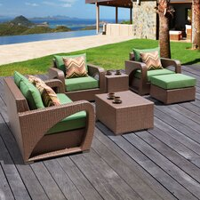 Borealis 6 Piece Deep Seating Group with Cushions