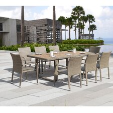 Borealis Chevalier 9 Piece Dining Set