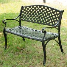 Borealis Aluminum Garden Bench