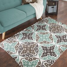 Chindi Hand-Woven Brown/Green Area Rug