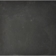 """Black Bliss 12"""" x 24"""" Slate Field Tile in Black"""