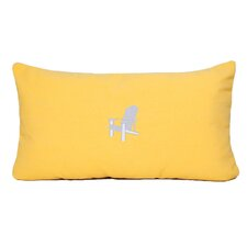 Adirondack Beach Outdoor Sunbrella Lumbar Pillow