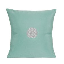 Sand Dollar Indoor/Outdoor Sunbrella Throw Pillow