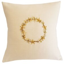 Modern Starfish Throw Pillow
