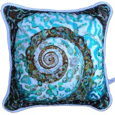 Turban Shell Indoor/Outdoor Throw Pillow