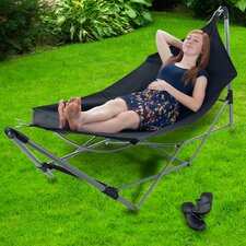 Portable Camping Hammock with Stand