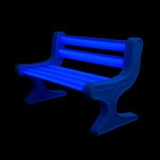 LED Garden Bench