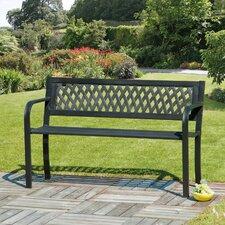 Steel/Plastic Garden Bench